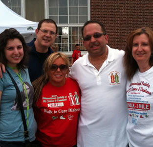 Juvenile Diabetes Walk June